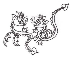 Битва двух драконов