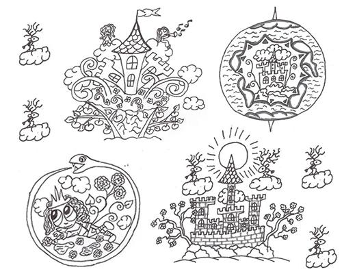Земные и волшебные замки и земли Артурианы